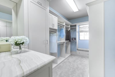 Turn Walk-In Closets into Live-In Closets