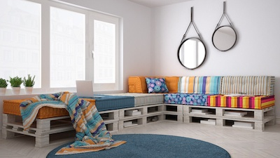 Idea Rich, Cash Poor? 5+ Apartment Furnishings to Upcycle or DIY