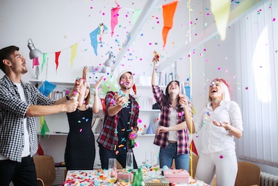 Where's the Party? 12 Tips for Hosting a Fabulous Gathering in Your Studio Apartment